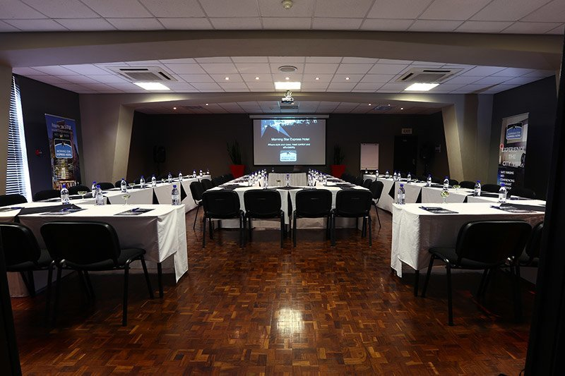 fully equipped conference venues that can host up to 100 delegates each | Morning Star Hotel
